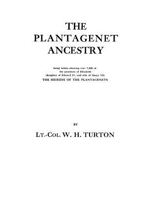Image for The Plantagenet Ancestry