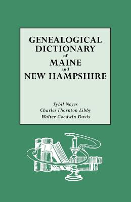 Image for Genealogical Dictionary of Maine and New Hampshire