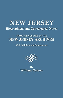 Image for New Jersey Biographical and Genealogical Notes