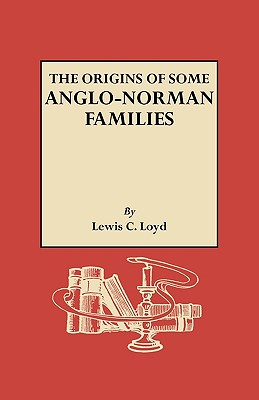 Image for The Origins of Some Anglo-Norman Families