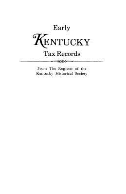 Image for Early Kentucky Tax Records