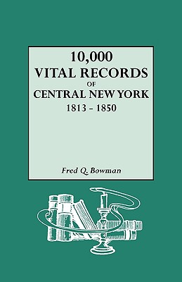 Image for 10,000 Vital Records of Central New York