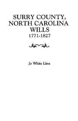 Image for Surry County, North Carolina Wills, 1771-1827