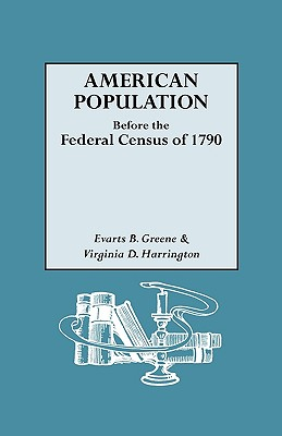 Image for American Population Before the Federal Census of 1790