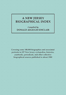 Image for New Jersey Biographical Index