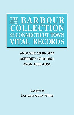 Image for The Barbour Collection of Connecticut Town Vital Records [Vol. 1]