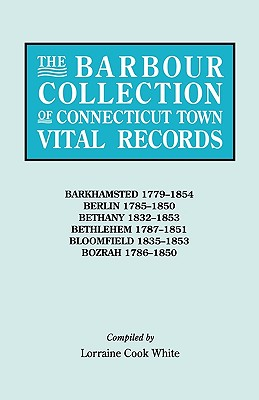 Image for The Barbour Collection of Connecticut Town Vital Records [Vol. 2]