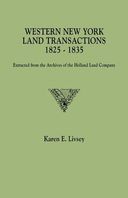 Image for Western New York Land Transactions, 1825-1835
