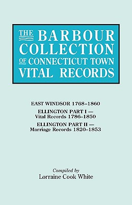 Image for The Barbour Collection of Connecticut Town Vital Records [Vol. 11]