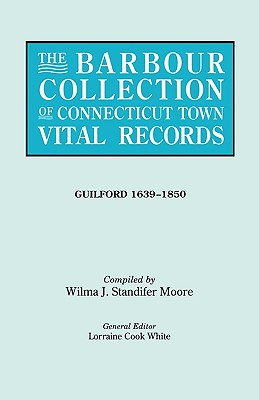 Image for The Barbour Collection of Connecticut Town Vital Records [Vol. 16]