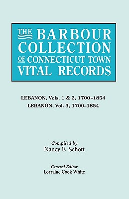 Image for The Barbour Collection of Connecticut Town Vital Records [Vol. 22]