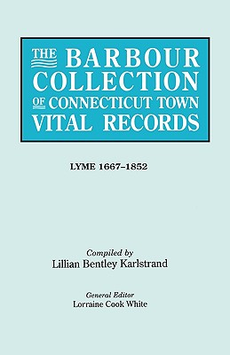 Image for The Barbour Collection of Connecticut Town Vital Records [Vol. 24]