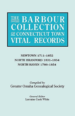 Image for The Barbour Collection of Connecticut Town Vital Records [Vol. 31]
