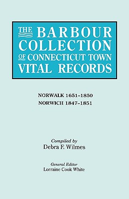 Image for The Barbour Collection of Connecticut Town Vital Records [Vol. 32]