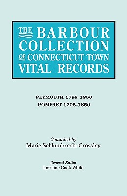 Image for The Barbour Collection of Connecticut Town Vital Records [Vol. 34]
