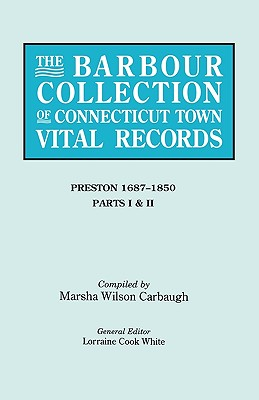 Image for The Barbour Collection of Connecticut Town Vital Records [Vol. 35]