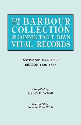 Image for The Barbour Collection of Connecticut Town Vital Records [Vol. 38]