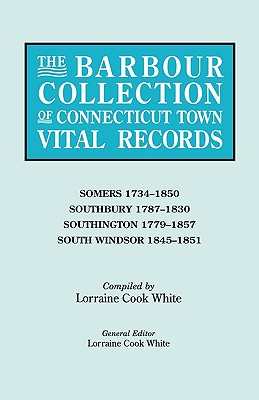 The Barbour Collection of Connecticut Town Vital Records. Somers (1734-1850),