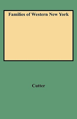 Families of Western New York, Cutter