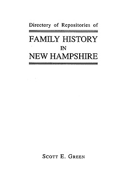 Image for Directory of Repositories of Family History in New Hampshire
