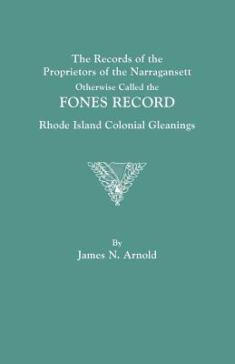 Image for The Records of the Proprietors of the Narragansett