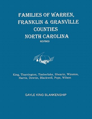 Image for Virginia and North Carolina Genealogies: Families of Warren, Franklin, and Granville Counties, North Carolina