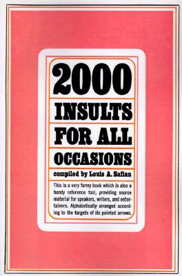Image for 2000 Insults