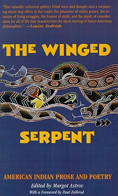 Image for The Winged Serpent: American Indian Prose and Poetry