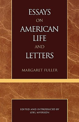 Image for Essays on American Life and Letters (Masterworks of Literature Series)