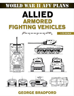 Image for Allied Armored Fighting Vehicles: 1:72 Scale (World War II AFV Plans)