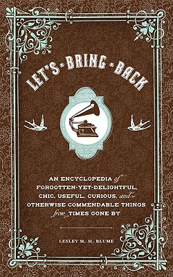 Image for Let's Bring Back