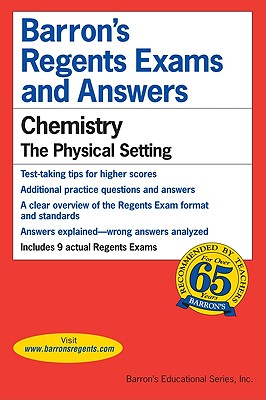 Image for Barrons's Regents Exams and Answers: Chemistry, the Physical Setting
