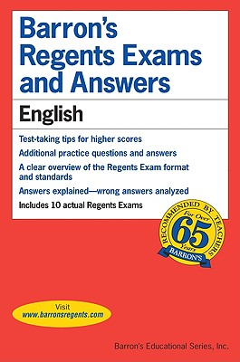 Image for Barron's Regents Exams and Answers: English