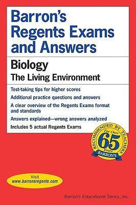 Image for Barron's Regents Exams and Answers: Biology