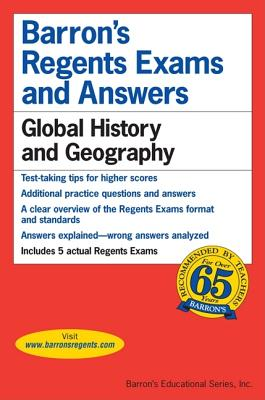 Image for Global History and Geography (Barron's Regents Exams and Answers Books)