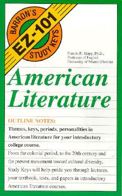 Image for American Literature (EZ-101 Study Keys)