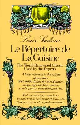 Image for LE REPERTOIRE DE LA CUISINE