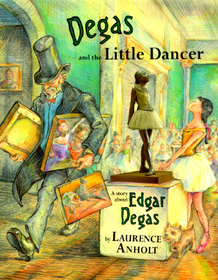 Image for Degas and the Little Dancer:  A Story about Edgar Degas