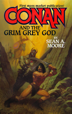 Image for CONAN AND THE GRIM GREY GOD