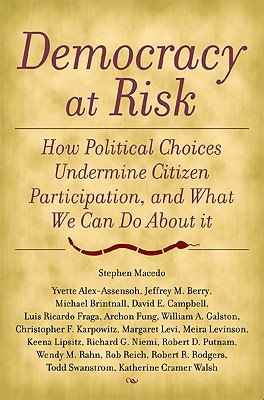 Image for Democracy at Risk: Toward a Political Science of Citizenship
