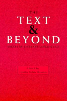 Image for The Text and Beyond: Essays in Literary Linguistics
