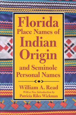 Image for Florida Place-Names of Indian Origin and Seminole Personal Names (Alabama Fire Ant)