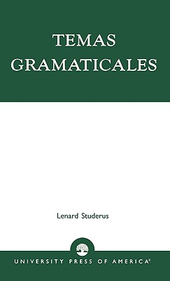 Temas Gramaticales, Studerus, Lenard