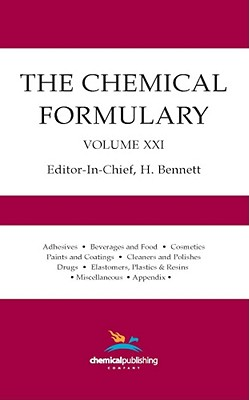 The Chemical Formulary, Volume 21