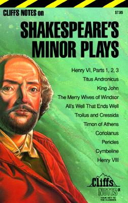 Image for CliffsNotes Shakespeare's Minor Plays