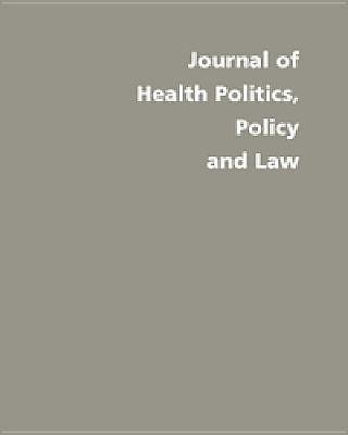 Image for Medicare: Intentions, Effects, and Politics (Volume 26) (Journal of Health Politics, Policy and Law)