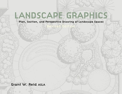 Landscape Graphics: Plan, Section, and Perspective Drawing of Landscape Spaces, Reid, Grant