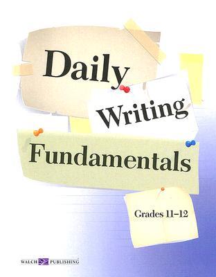 Image for Daily Writing Fundamentals, Grade 11-12