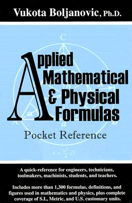 Image for Applied Mathematical and Physical Formulas Pocket Reference