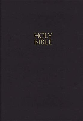 "Image for ""Giant Print Center-Column Reference Bible (KJV, 0893, Black Leatherflex, Velva-Gold Page Edges)"""